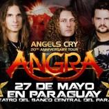 Angra tocará en Asunción en mayo