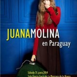 Juana Molina llega a Paraguay en junio