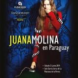 A días del show de Juana Molina en Paraguay