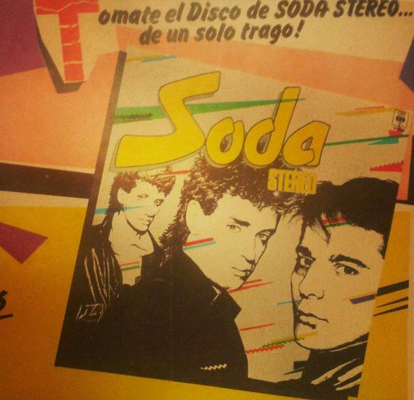 soda stereo disco