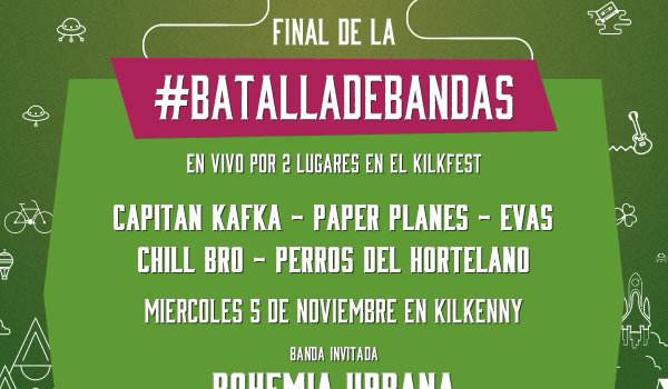 Estos son los finalistas de la Batalla de Bandas del Kilkfest
