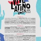 Vive Latino de México con gran cartel para marzo