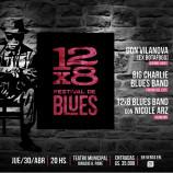 Vuelve el 12 x 8 Festival de Blues con varias atracciones
