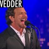 "Eddie Vedder se presentó en Letterman haciendo ""Better Man"""
