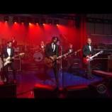 """Foo Fighters despidió a Letterman con potente versión de """"Everlong"""""""