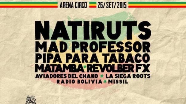 Natiruts encabeza el festival Ciudad Reggae