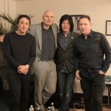 Billy Corgan con James Iha por primera vez en 16 años