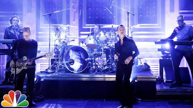 """Mirá a los Depeche Mode hacer su nuevo tema """"Where's the Revolution"""" en Fallon"""